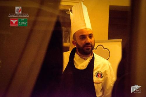 Shooting showcooking Daniele chef a domicilio